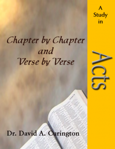 Chapter by Chapter- Acts copy