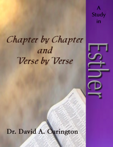 Chapter by Chapter- Esther-Historical copy