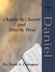 Chapter by Chapter- Major- Daniel copy