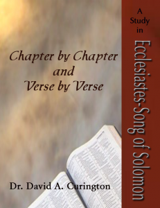 Chapter by Chapter- Poetical- Ecc-SOS copy