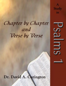 Chapter by Chapter- Poetical- psalms 1 copy
